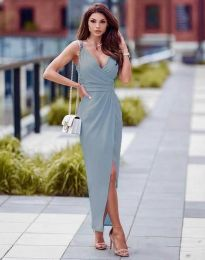 Obleka - koda 6135 - svetlo modra