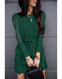 Obleka - koda 8384 - olivna