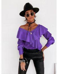 Bluza - koda 6030 - vijolična