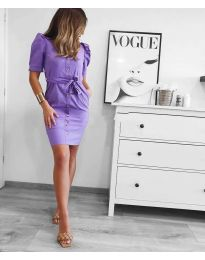 Obleka - koda 1598 - vijolična