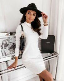 Obleka - koda 7092 - bela
