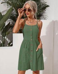 Obleka - koda 6271 - olivno zelena
