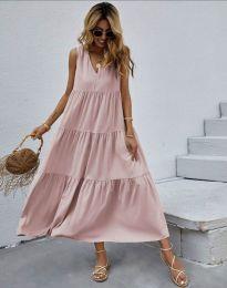 Obleka - koda 8149 - roza