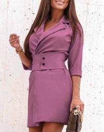 Obleka - koda 1356 - vijolična