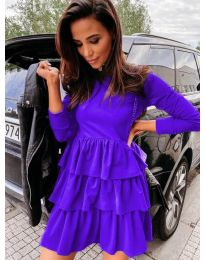 Obleka - koda 3109 - vijolična