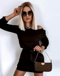 Obleka - koda 12038 - črna