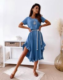 Obleka - koda 11893 - modra