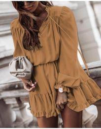 Obleka - koda 3231 - rjava