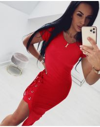 Obleka - koda 059 - rdeča