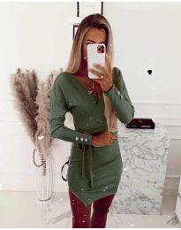 Obleka - koda 2077 - olivna