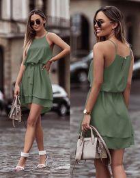 Obleka - koda 2104 - olivno zelena