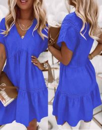 Obleka - koda 8978 - modra