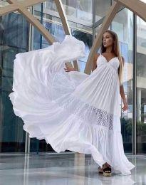 Obleka - koda 6838 - bela