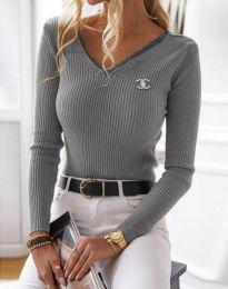 Bluza - koda 5946 - siva