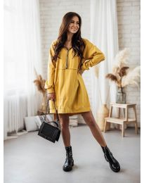 Obleka - koda 6113 - gorčica