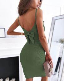Obleka - koda 0987 - olivna