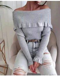 Bluza - koda 7131 - siva