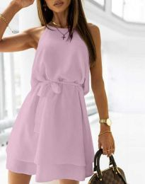 Obleka - koda 9968 - vijolična