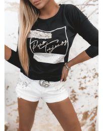 Bluza - koda 4223 - črna