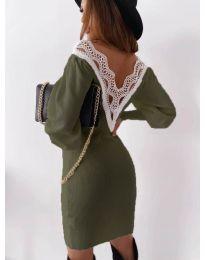 Obleka - koda 1718 - olivna