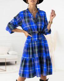 Obleka - koda 6842 - modra