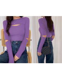 Bluza - koda 0566 - vijolična