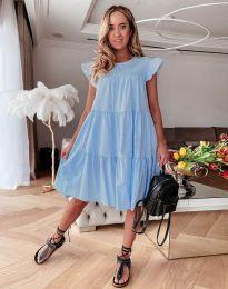 Obleka - koda 2666 - svetlo modra