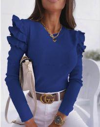 Bluza - koda 1653 - 6 - temno modra