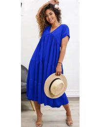 Obleka - koda 4475 - temno modra
