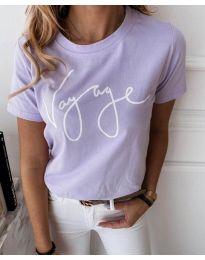 Majica - koda 3350 - vijolična