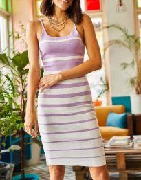 Obleka - koda 0998 - vijolična