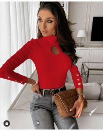 Bluza - koda 9917 - 4 - rdeča