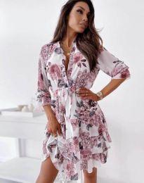 Obleka - koda 2550 - cvetni