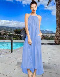 Obleka - koda 6999 - svetlo modra