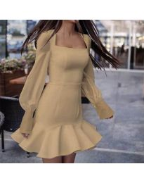Obleka - koda 3605 - bež