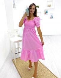 Obleka - koda 3283 - 1 - roza