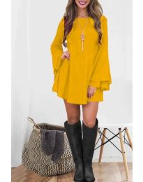 Obleka - koda 8102 - gorčica