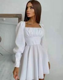 Obleka - koda 8150 - bela