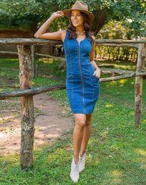 Obleka - koda 7735 - 1 - modra