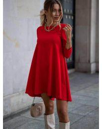 Obleka - koda 371 - rdeča
