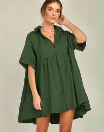 Obleka - koda 6464 - olivna