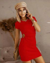 Obleka - koda 8556 - rdeča