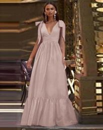 Obleka - koda 2743 - bledo roza