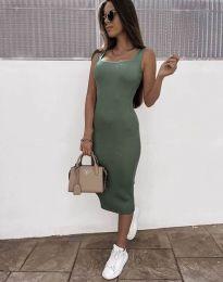 Obleka - koda 5964 - olivno zelena