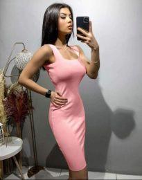 Obleka - koda 10300 - svetlo roza