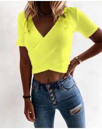 Majica - koda 1102 - neonsko rumena