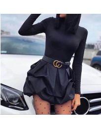 Obleka - koda 8380 - črna