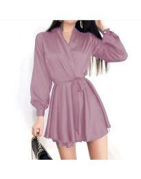 Obleka - koda 8745 - svetlo vijolična