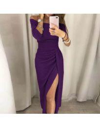 Obleka - koda 6045 - vijolična