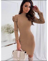 Obleka - koda 2915 - 1 - rjav